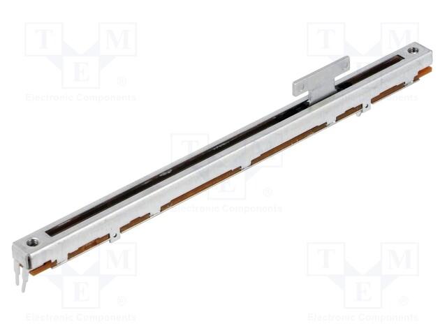 métal Alpes Slide 10kΩ 500 mW THT ± 20/% linéaire Mat RSA0N11S9A0K Potentiomètre
